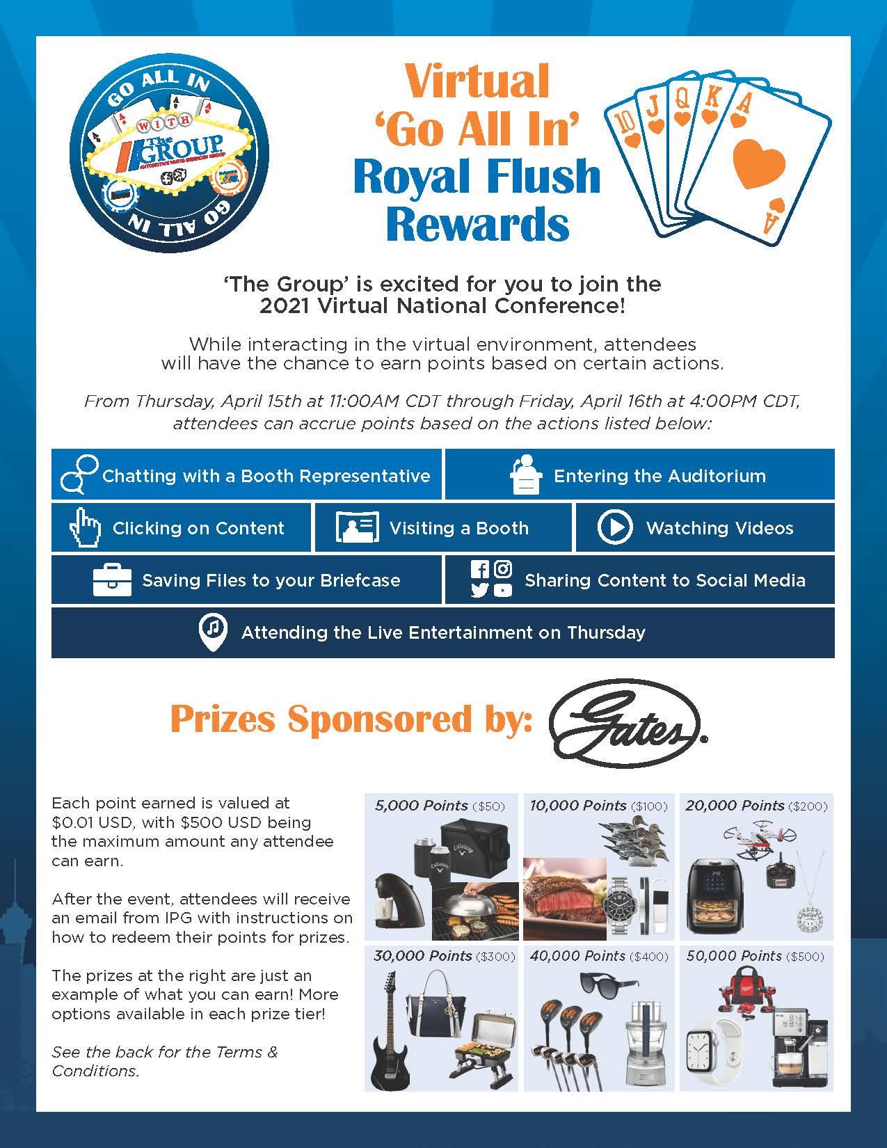 Royal Flush Rewards